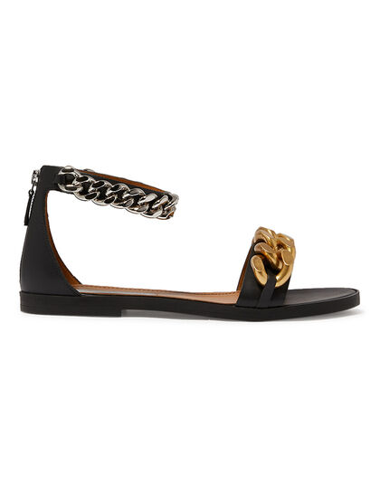 Chain Ankle Sandals