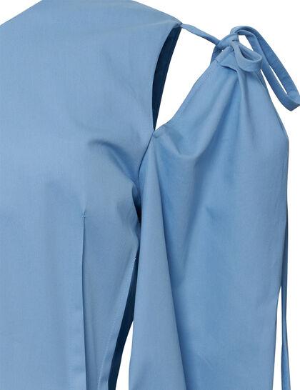Tie A-Line Dress
