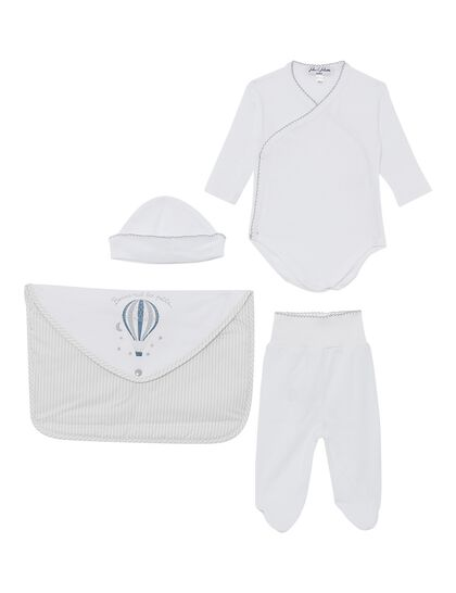 Stripes Baby Suit Gift Set