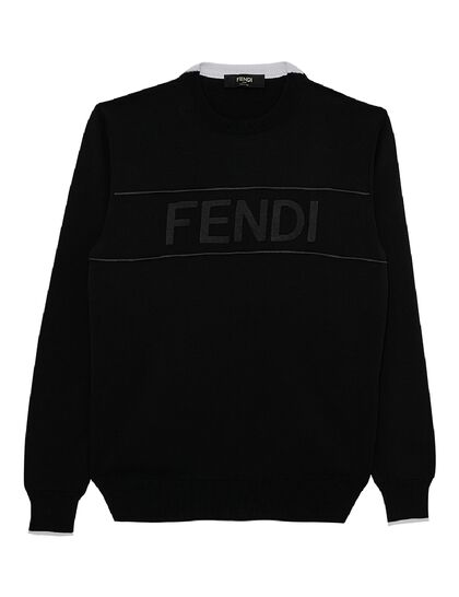 Knitted Sweater Fendi Tape