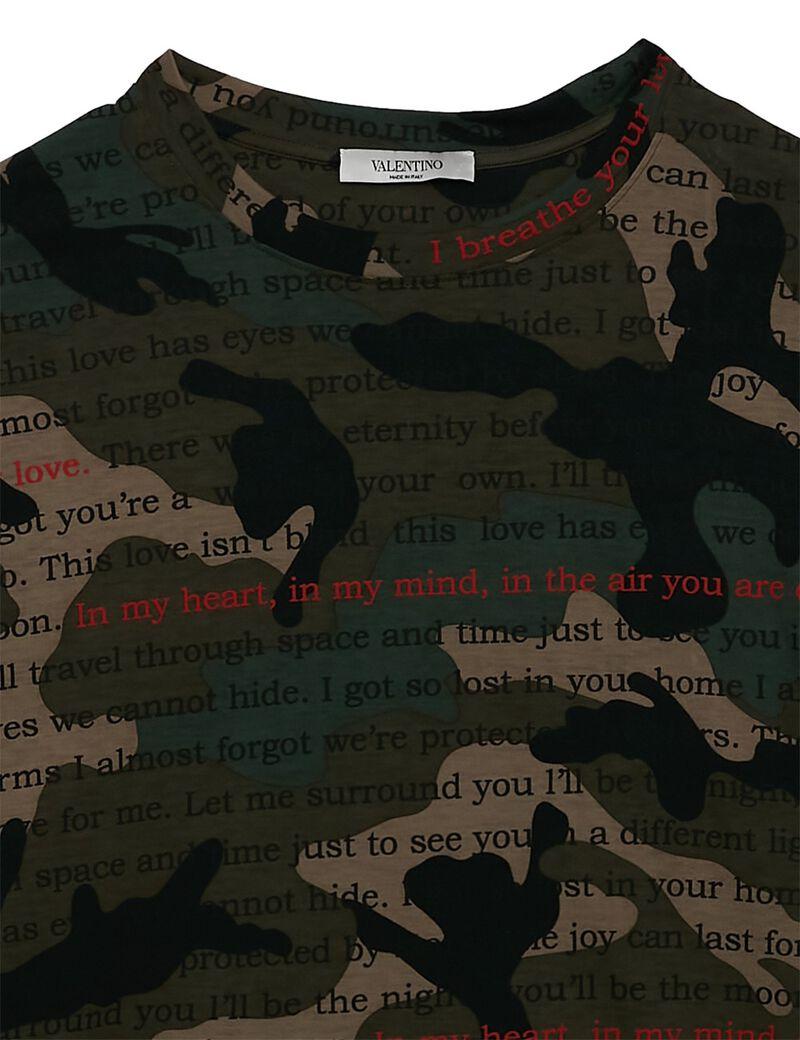 Tshirt Camou Poetry
