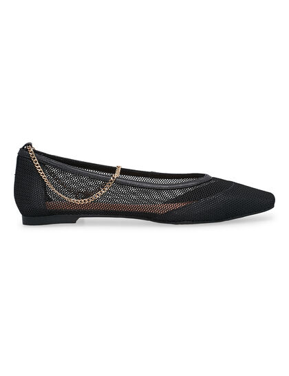Mesh Flat With Chain