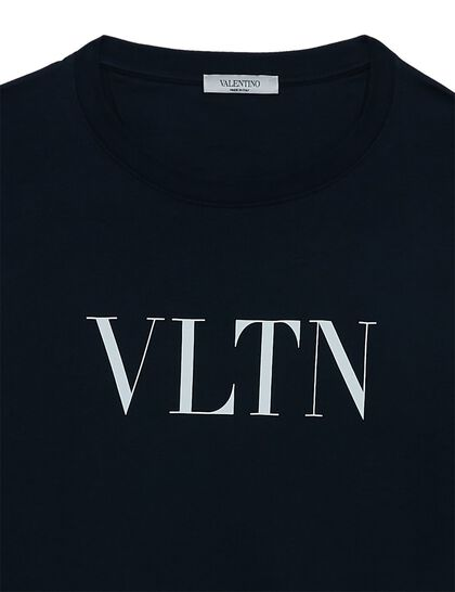 VLTN Logo Cotton T-shirt