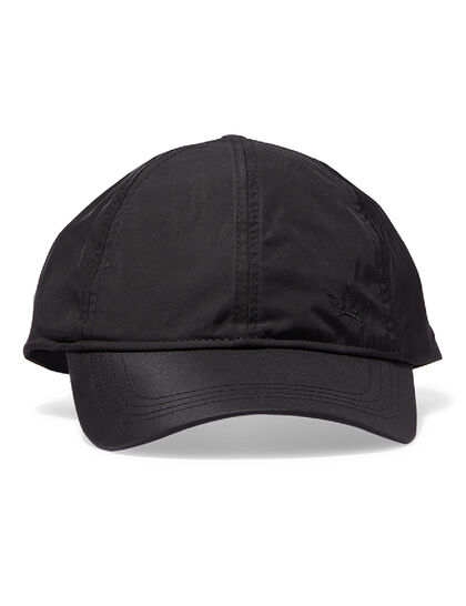 Stellar Nylon Baseball Cap - Black – Embroidered Logos
