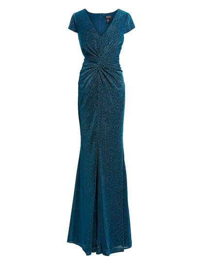 Shimmered Jersey Gown