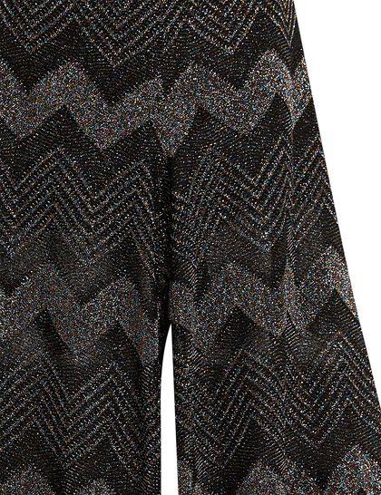 Classic Lurex Zigzag Pant