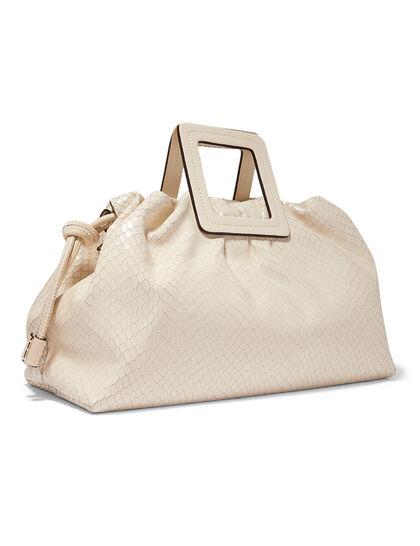 Croc-Embossed Shirley Carryall Bag