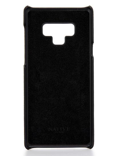 Phone Cover Samsung Note9 Phone Case W Croc Print In Black