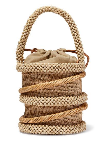 Mini Abaca Bucket Bag