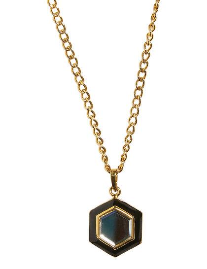 Borderless Mirror Drop Necklace