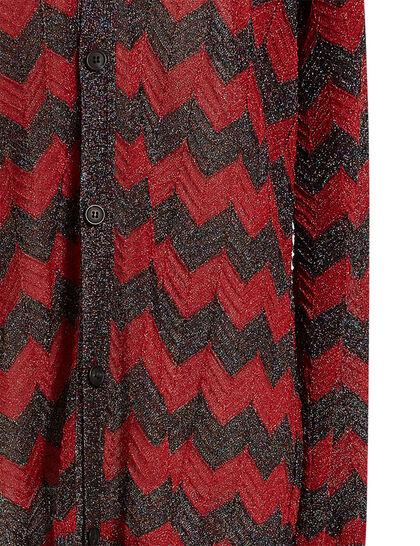 Classic Lurex Zigzag Cardigan