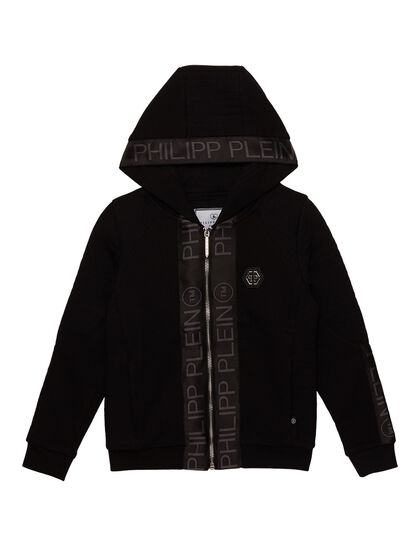 Hoodie All Over Piping Logo