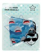 Shark Camo Printed Face Mask