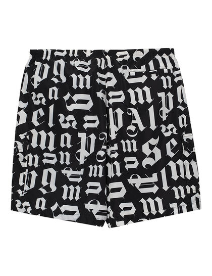 Broken Monogram Swim Shorts