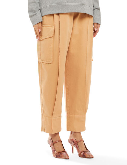 Pleated Cargo Pants