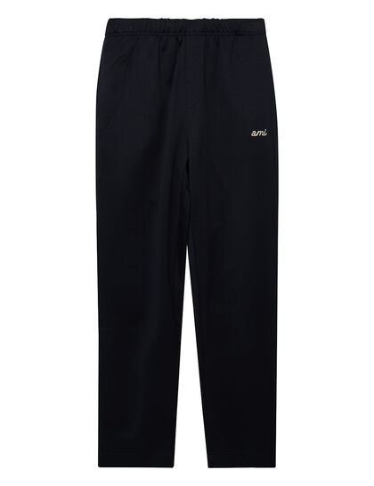 Technical Track Pants With Ami Embroidery