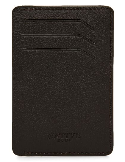 Smart Credit Card Holder In Black