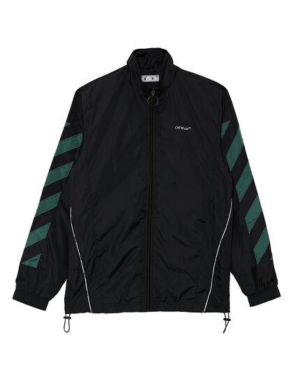 Diag Nylon Jacket