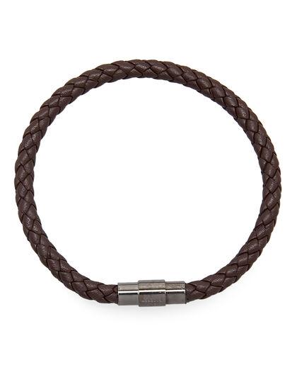 Grained Leather Bracelet