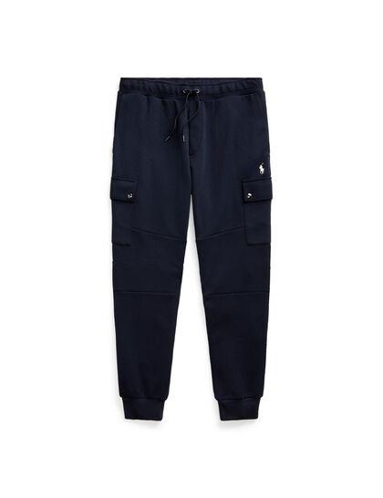 Cargojoggrm5 Cargo Pant Double Knit Tech - Polo Black