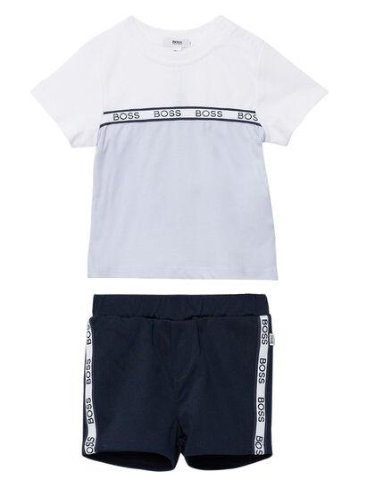 T-Shirt And Bermuda Shorts