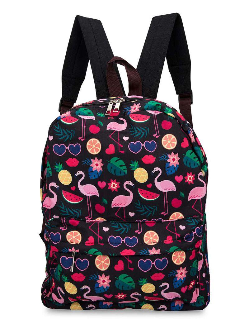 Flamgino And Fruit Backpack