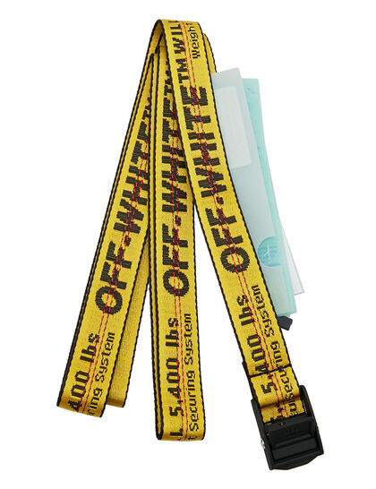 Mini Industrial Belt Yellow Black