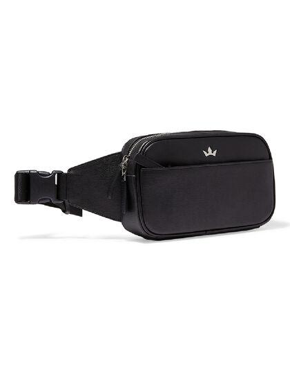 Award Belt Bag - Italian Leather Black