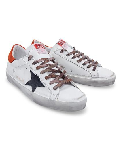 Super-Star Leather Upper Star And Heel