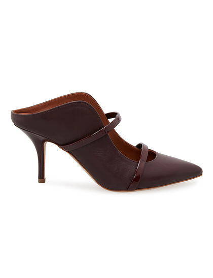 Maureen 70 Leather Mules