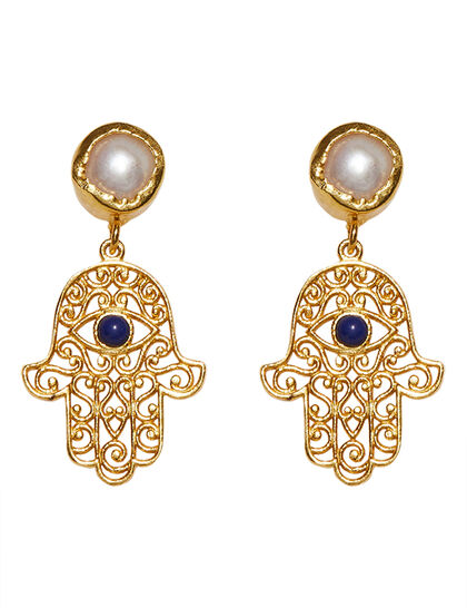 Everyday Magic Hand Of Luck Earrings
