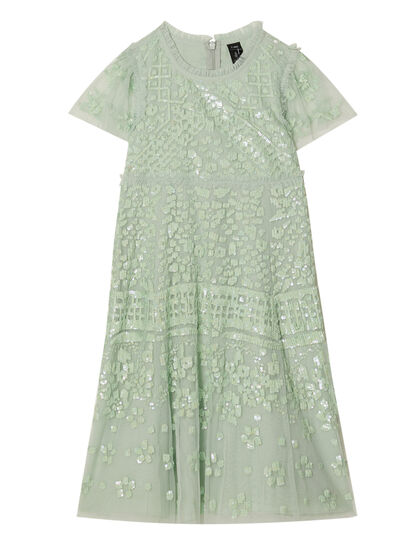 Aurora Embellished Long Dress