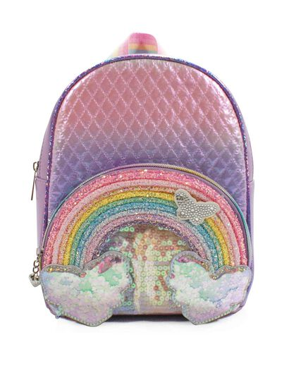 Over The Rainbow Ombre Mini Backpack