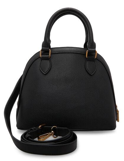 Mini Top Handle Bag With Chain
