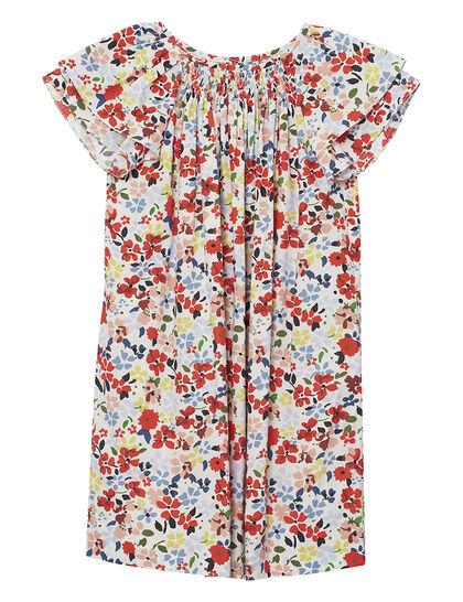 Floral Print Short Dress
