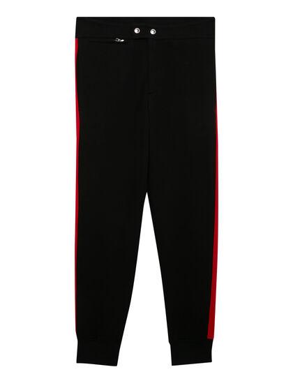 Red Panel Sweatpants