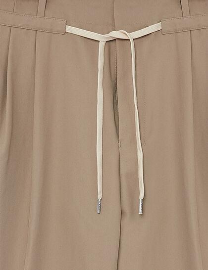 Pantalon A Cordon Coulissant