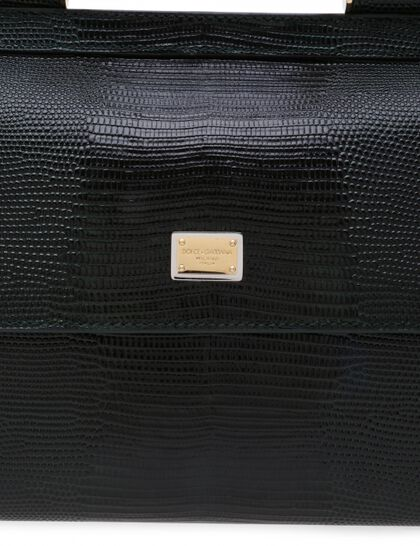 Sicily Bag Small Iguana Plate