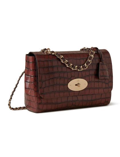 Medium Lily Top Handle Bag