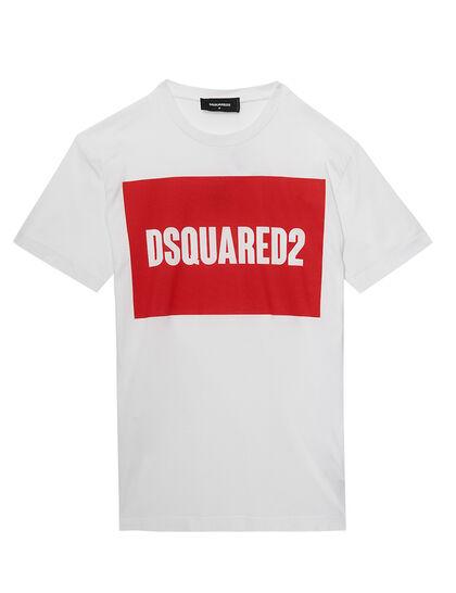 Logo Box Print T-Shirt