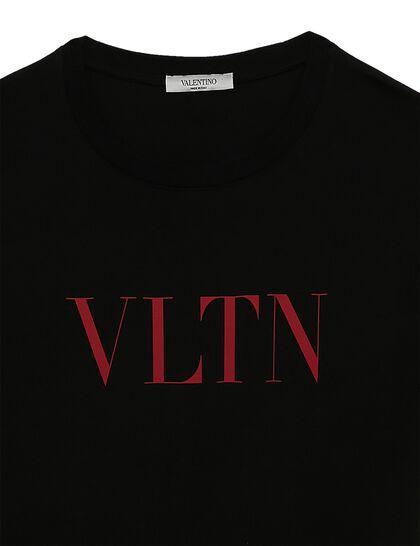 VLTN Logo Cotton T-shirt