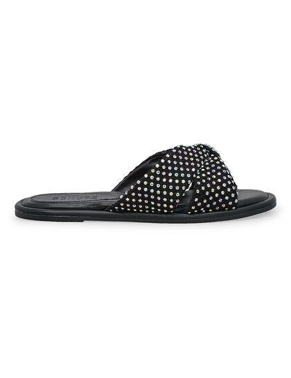 Knotted Flat Sandals