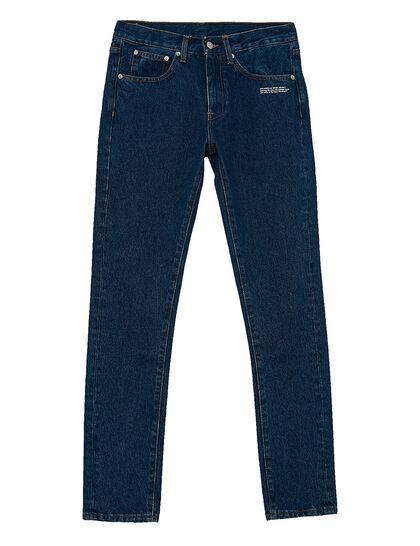 Diagonal Slim-Fit Jeans