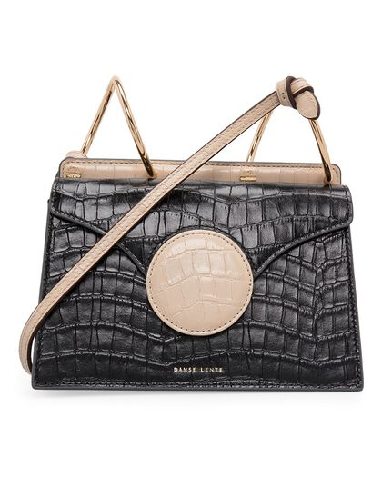 Mini Phoebe Tan/Black Croc Ss20