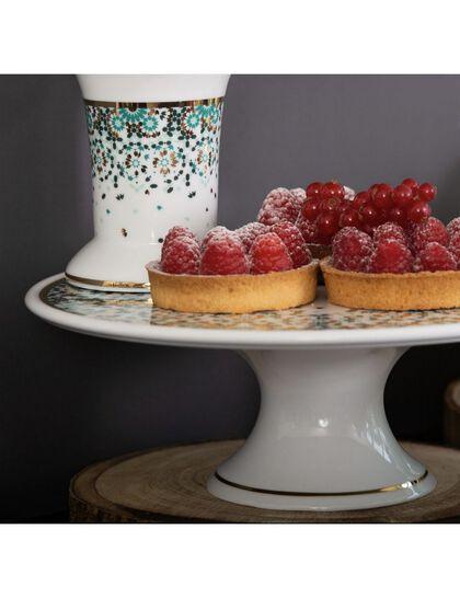Mirrors Cake Stand - Emerald
