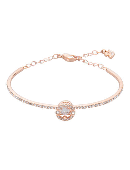Sjc Sparkling Dc Bangle Round Czwh Cry Ros M