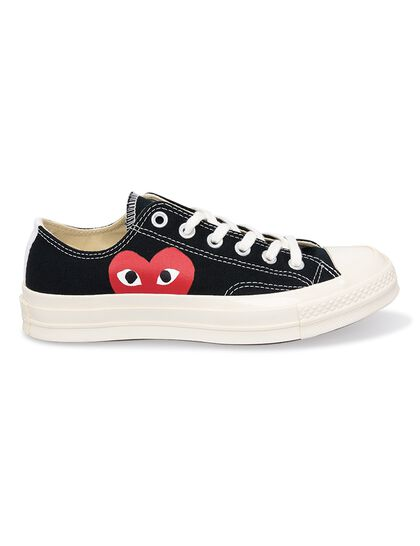 Play X Converse Low Top Sneakers