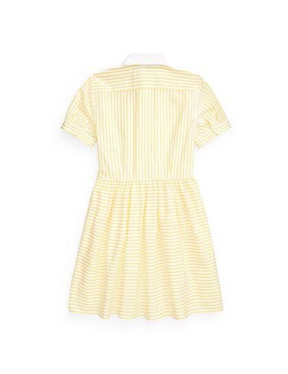 Silky Finish-Stripe Shirt-Dr-Wvn