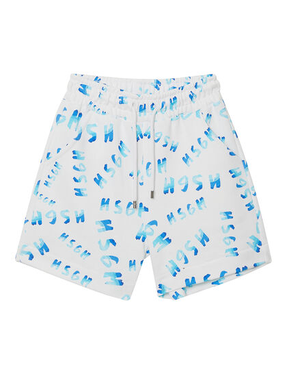 All-over Logo Print Shorts