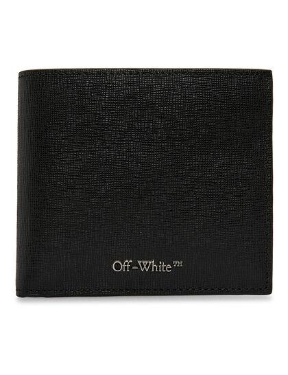 Logo Bi-fold Wallet - Black